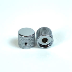 Metal Barrel Knobs Chrome