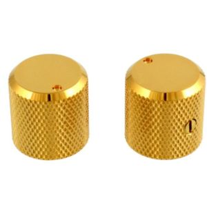 Metal Barrel Knobs Gold