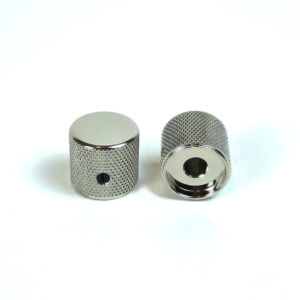 Metal Barrel Knobs Nickel